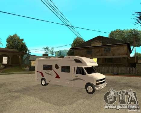 Chevrolet Camper para la visión correcta GTA San Andreas