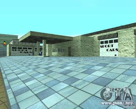 HD garaje en Doherty para GTA San Andreas
