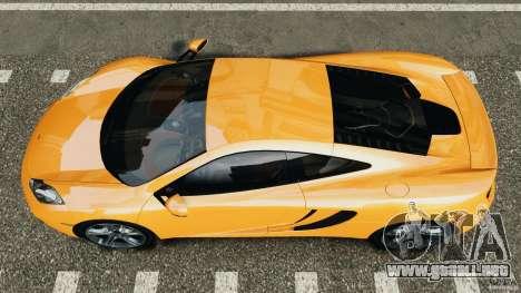 McLaren MP4-12C v1.0 [EPM] para GTA 4 visión correcta