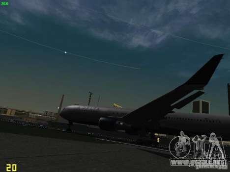 Boeing 767-400ER Delta Airlines para visión interna GTA San Andreas