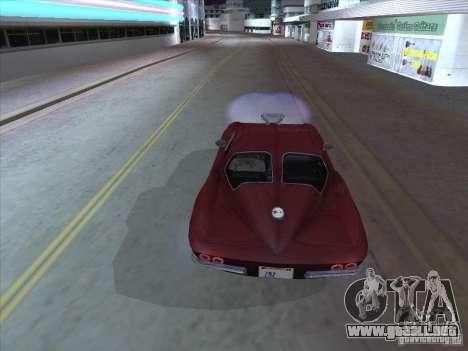Chevrolet Corvette Big Muscle para la visión correcta GTA San Andreas