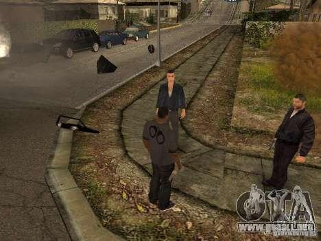 MAFIA Gang para GTA San Andreas quinta pantalla