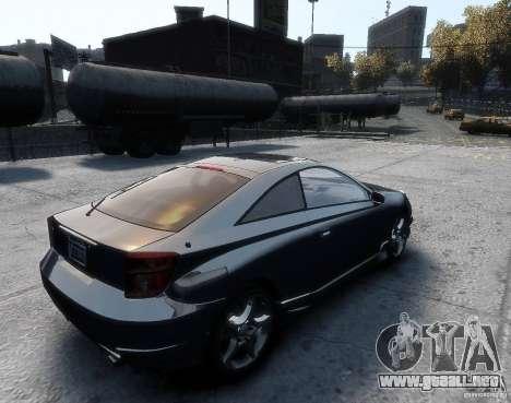 Toyota Celica para GTA 4 left