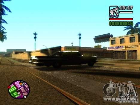 ENBSeries v2 para GTA San Andreas tercera pantalla