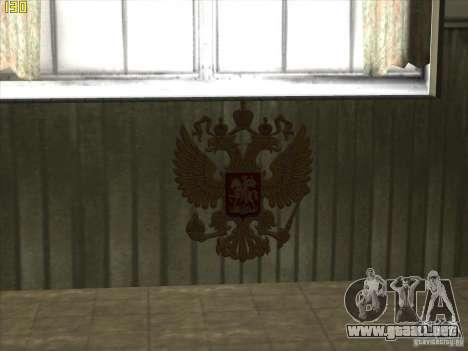 Escudo de armas de Rusia para GTA San Andreas tercera pantalla