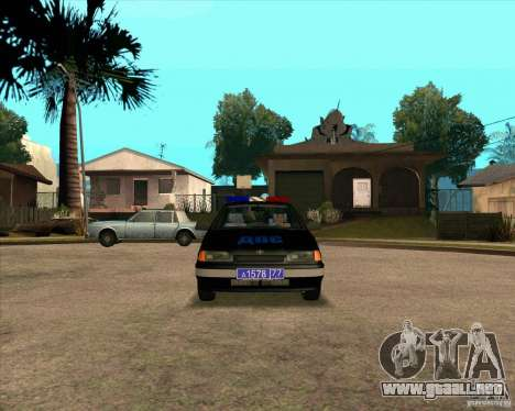 Vaz 2115 DPS para GTA San Andreas left