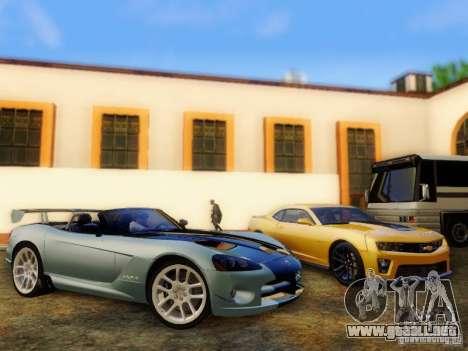 Dodge Viper SRT-10 Roadster ACR 2004 para la visión correcta GTA San Andreas