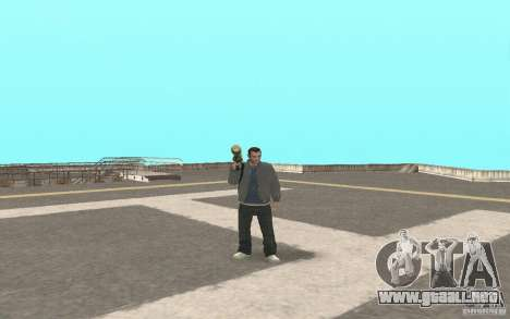 Animación del GTA IV para GTA San Andreas tercera pantalla