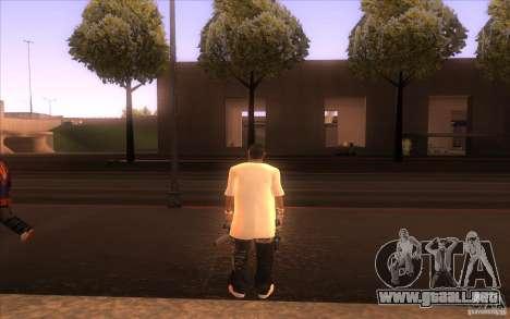 Nueva piel para GTA San Andreas segunda pantalla