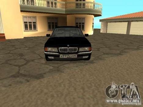 BMW 740I E38 (RUS) para GTA San Andreas