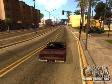 Feltzer en GTA Vice City para GTA San Andreas vista hacia atrás