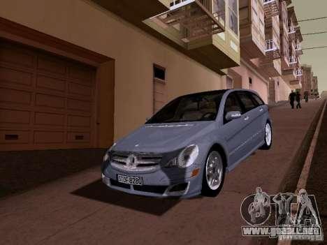 Mercedes Benz R300 para GTA San Andreas