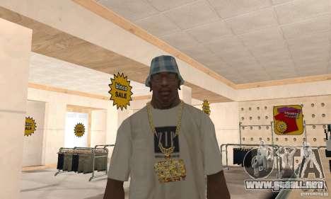 Eminem and 50 Cent one chain para GTA San Andreas segunda pantalla