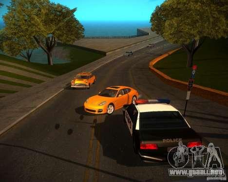 ENBSeries Realistic para GTA San Andreas segunda pantalla