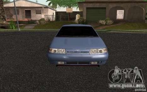 VAZ 2111 para GTA San Andreas vista posterior izquierda