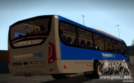 Marcopolo Viale BRT 0500M para GTA San Andreas left