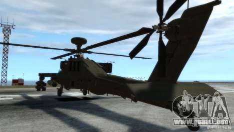 AH-64D Longbow Apache v1.0 para GTA 4 vista interior