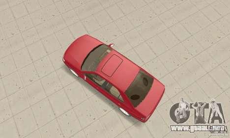 Peugeot 406 stock para la visión correcta GTA San Andreas
