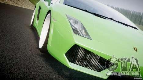 Lamborghini Gallardo LP 560-4 DUB Style para GTA 4 vista desde abajo