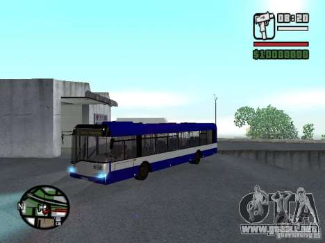 Solaris Urbino 12 para GTA San Andreas left