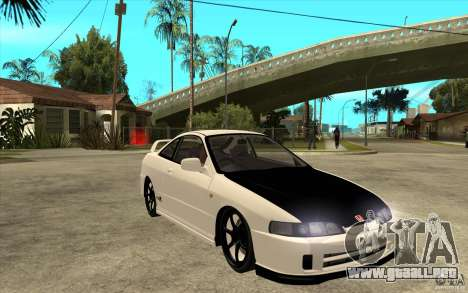 Honda Integra Spoon Version para GTA San Andreas vista hacia atrás