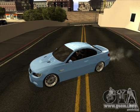 BMW M3 Convertible 2008 para GTA San Andreas