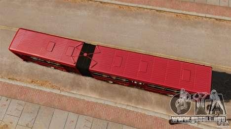 Ikarus 280 para GTA 4 visión correcta