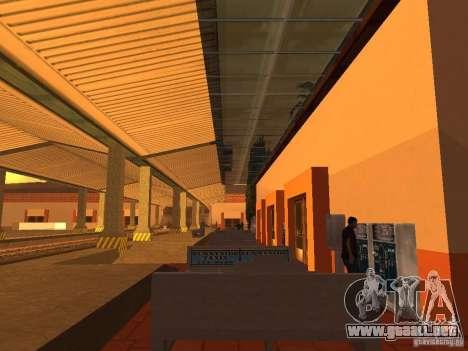 Unity Station para GTA San Andreas tercera pantalla
