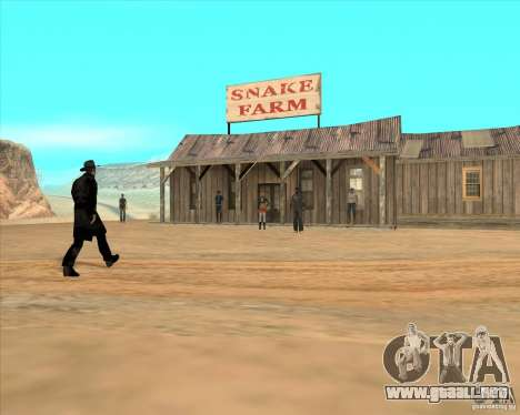Duelo de vaquero para GTA San Andreas tercera pantalla