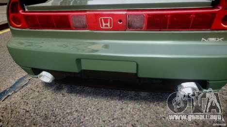Honda NSX NA2 [Beta] para GTA 4 interior