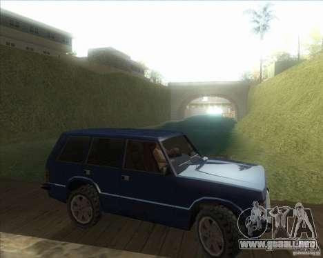 Mi configuración ENBSeries HD para GTA San Andreas sexta pantalla