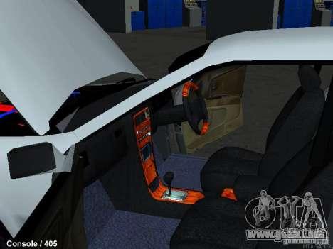 Toyota Mark II 100 1JZ-GTE para visión interna GTA San Andreas