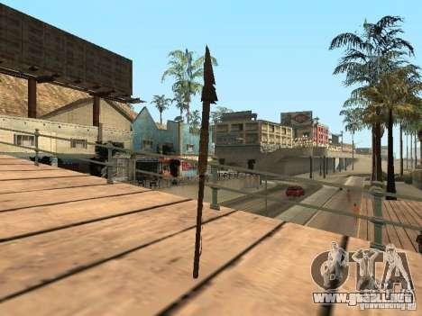 Lanza para GTA San Andreas