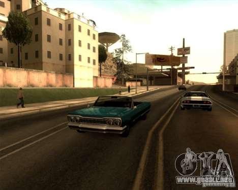 ENBSeries by Sashka911 v3 para GTA San Andreas quinta pantalla
