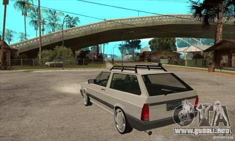 Volkswagen Parati GLS 1994 para GTA San Andreas vista posterior izquierda