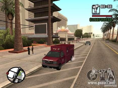 Ambulancia de GTA IV para GTA San Andreas