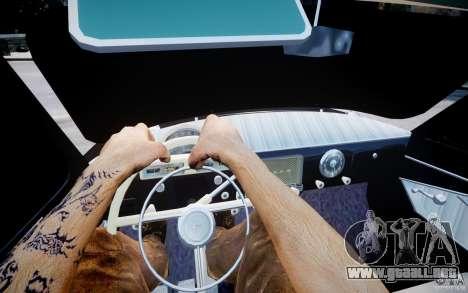 Gaz m 21 luz Tuning para GTA 4 vista hacia atrás