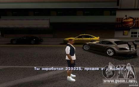 Autos clásicos en venta hacia fuera para GTA San Andreas octavo de pantalla
