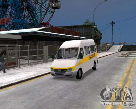 Mercedes-Benz Sprinter W903 para GTA 4