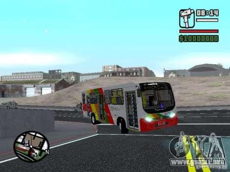 Comil Svelto Midi 2009 para visión interna GTA San Andreas