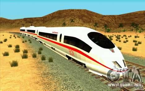ICE3 Train para GTA San Andreas