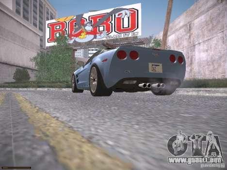 Chevrolet Corvette ZR1 para las ruedas de GTA San Andreas