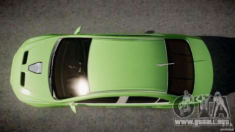 Mitsubishi Lancer Evolution X Tuning para GTA 4 interior