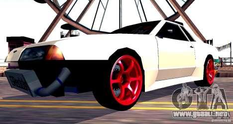 Elegy Drift Masters v0.2 para la visión correcta GTA San Andreas