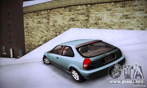 Honda Civic EK9 para GTA San Andreas left