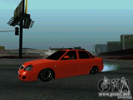 LADA 2170 102-RUS para GTA San Andreas left