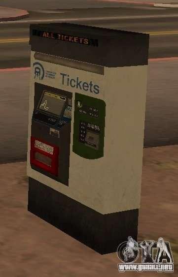 Máquinas de GTA 4 para GTA San Andreas sucesivamente de pantalla