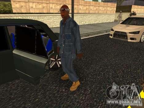 2Pac v1 para GTA San Andreas segunda pantalla