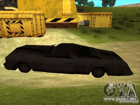 Real Ghostcar para GTA San Andreas left