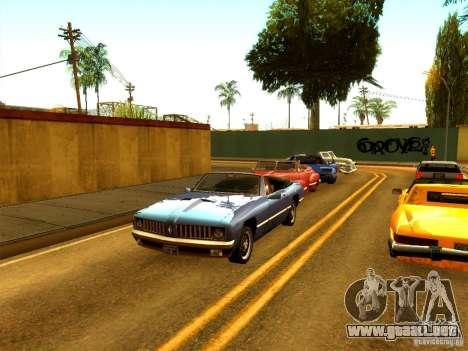 ENBSeries by Sashka911 v2 para GTA San Andreas tercera pantalla